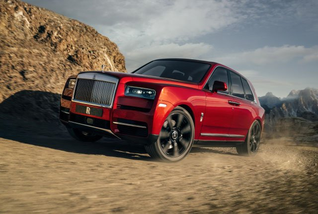 Rolls-Royce Unveils Its First Luxury SUV