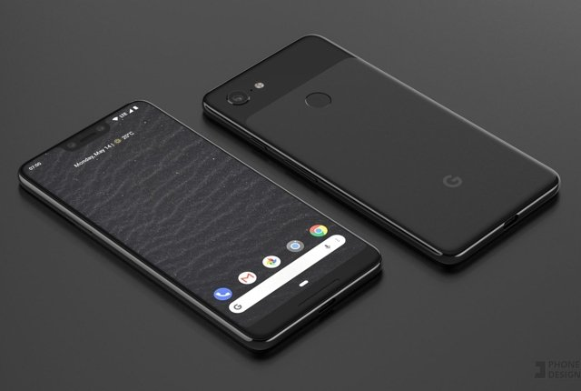 Google Pixel 3 XL – Leaked photo shows notch