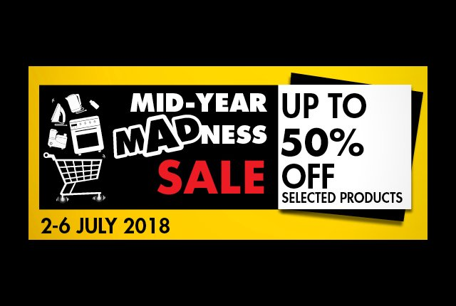 Save up to 50% on tech in Makro's Mid-Year Madness Sale