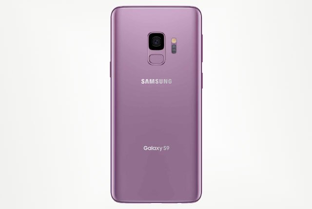 Samsung Galaxy S9 rear