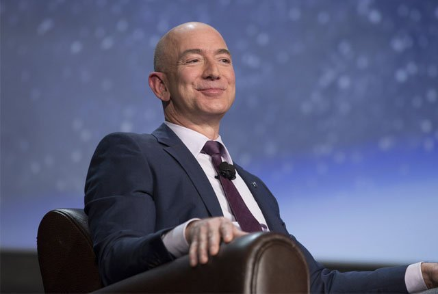 Amazon's Jeff Bezos now worth more than $170 billion