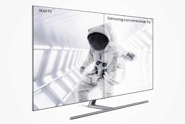 The impressive features of Samsung's 2018 QLED TVs