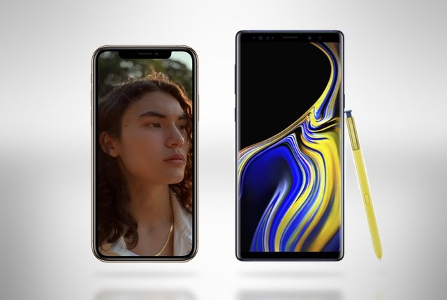 iPhone Xs vs Galaxy S9 vs Huawei P20 vs Galaxy Note 9 – South African pricing