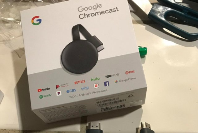 Leaked Chromecast