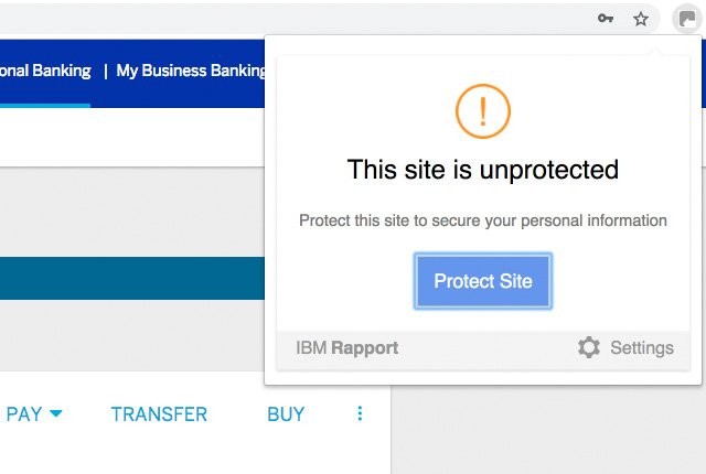 "Why Standard Bank security software shows online banking as ""unprotected"""