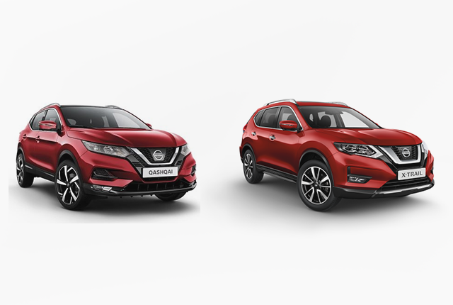 Nissan Qashqai vs X-Trail – Pick your next Nissan SUV