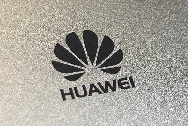 Huawei logo on phone
