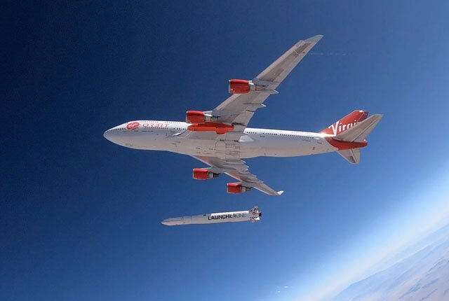 Virgin Orbit fails attempted rocket launch from 747