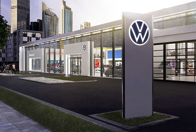 New VW logo unveiled