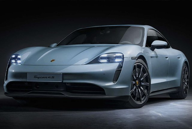 New electric Porsche Taycan 4S takes on Tesla Model S