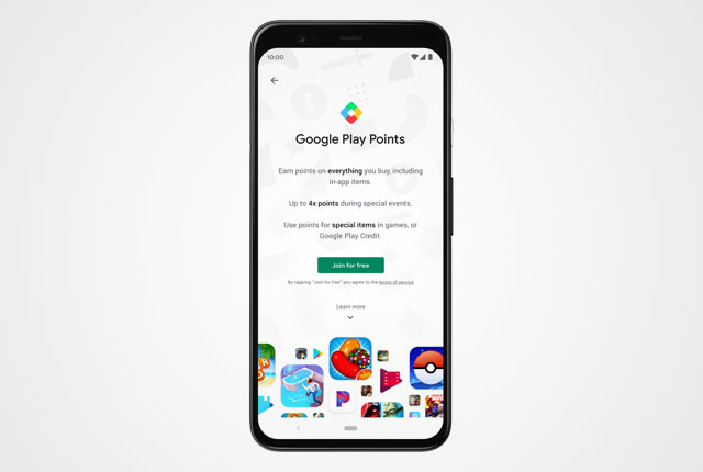 Google launches Play Points rewards for Android
