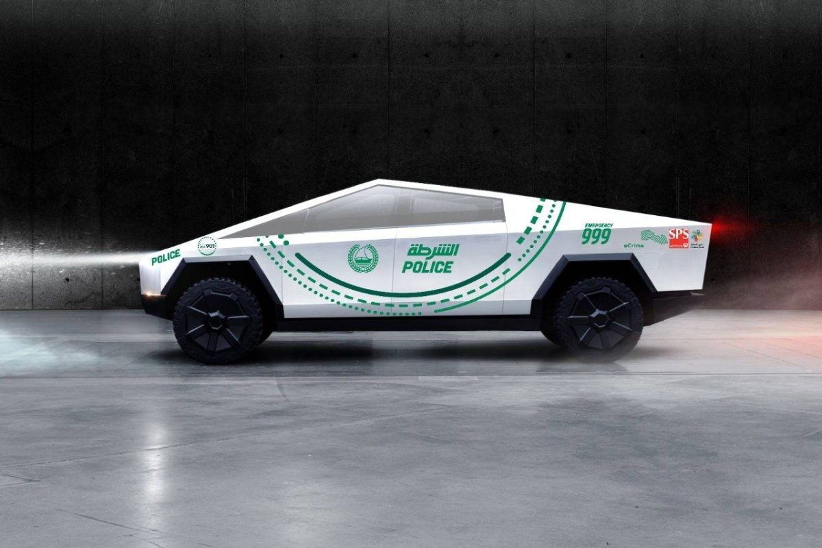 Dubai Police to use Tesla Cybertruck