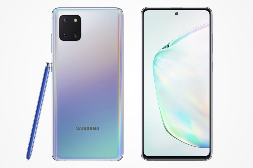 The Samsung Galaxy Note 10 Lite that will be sold in South Africa