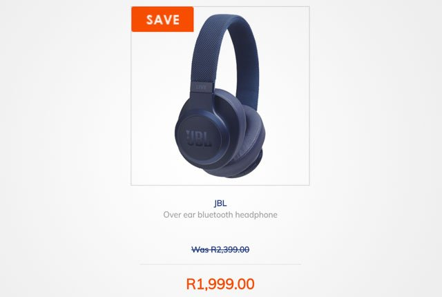 JBL headphones from Dion Wired