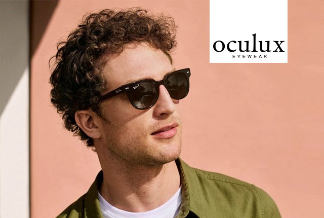 Looking for Ray-Ban or Oakley Sunglasses? Oculux has you covered