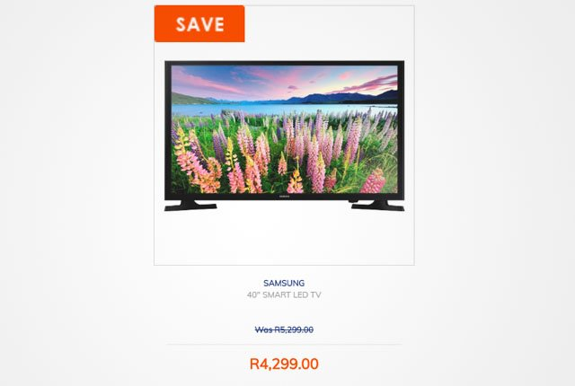 Samsung 40-inch Smart TV from Dion Wired