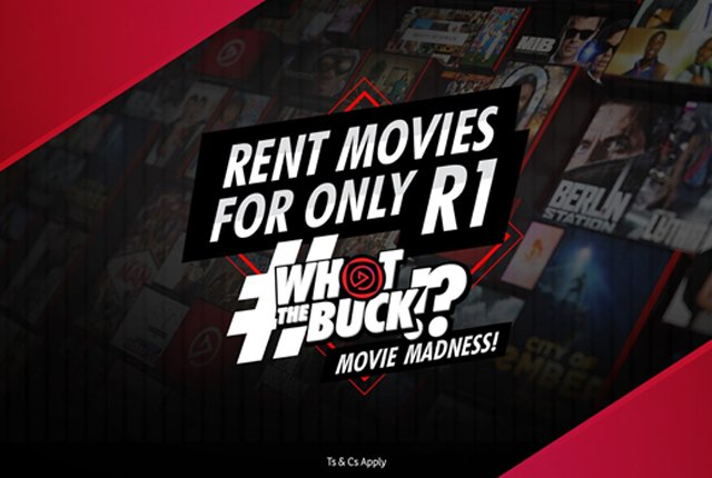 Rent movies for R1 during lockdown on Video Play