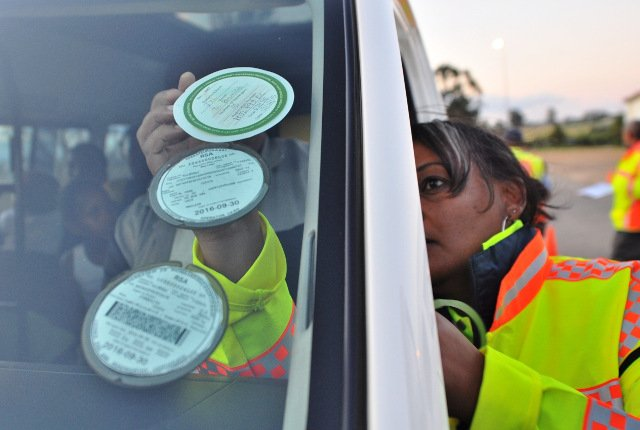 Vehicle licence renewal crisis in South Africa