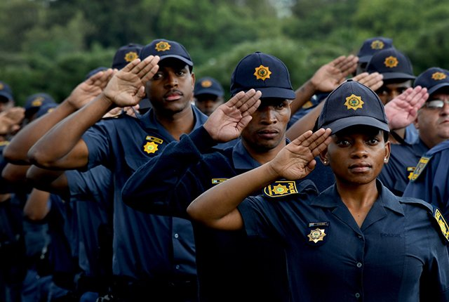 SAPS Police officers