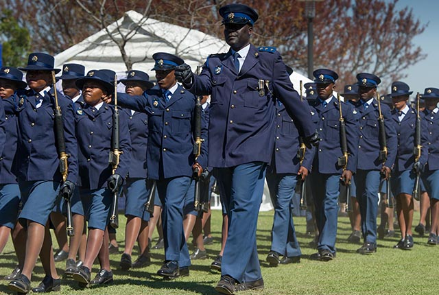 Firearms used by the South African Police Service – Specifications and purpose