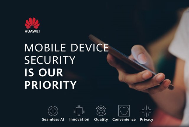 Integrated security is key to HUAWEI Mobile Services
