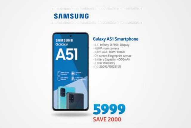 Samsung Galaxy A51 from Incredible Connection