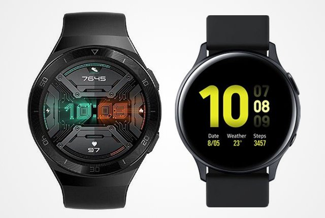 Huawei Watch GT 2e vs Samsung Galaxy Watch Active 2 – The best fitness smartwatch