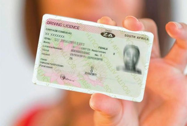 Driving licence renewal problem in South Africa