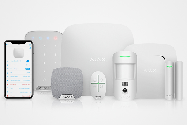 Ajax Wireless Security System – For cutting-edge home protection