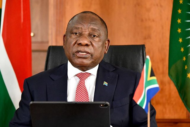 Ramaphosa to address the nation on Monday over COVID-19 response