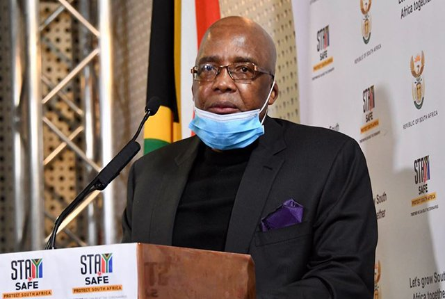 Dr Aaron Motsoaledi South African Minister of Home Affairs