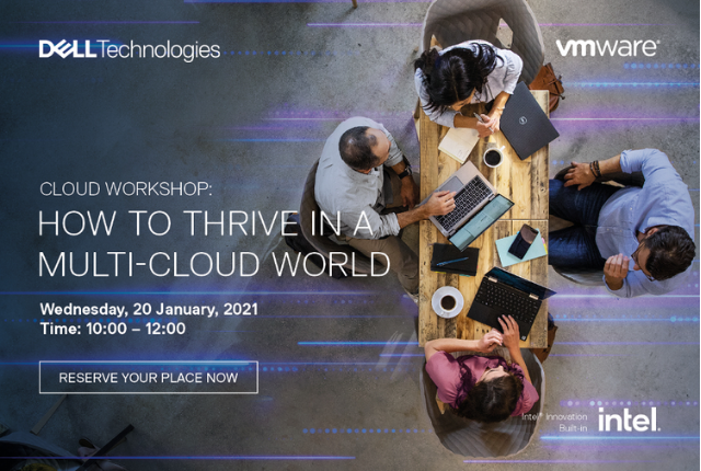 Dell Technologies and VMware multi-cloud workshop – Sign up now