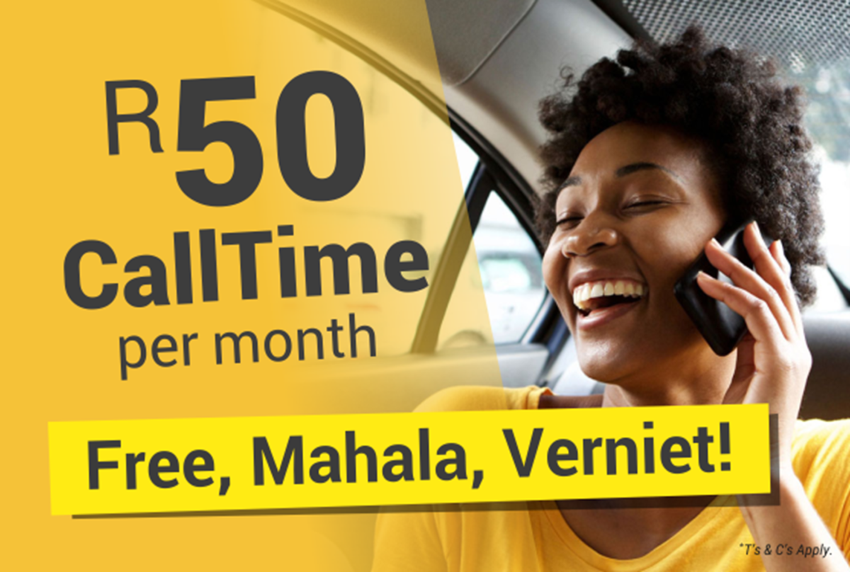 Get a free VoIP number and R50 CallTime per month from Axxess