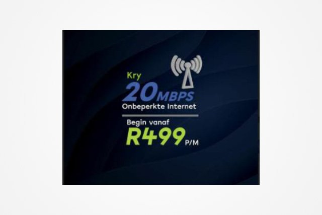 20Mbps for R499 claim from prominent ISP is misleading – Advertising regulator