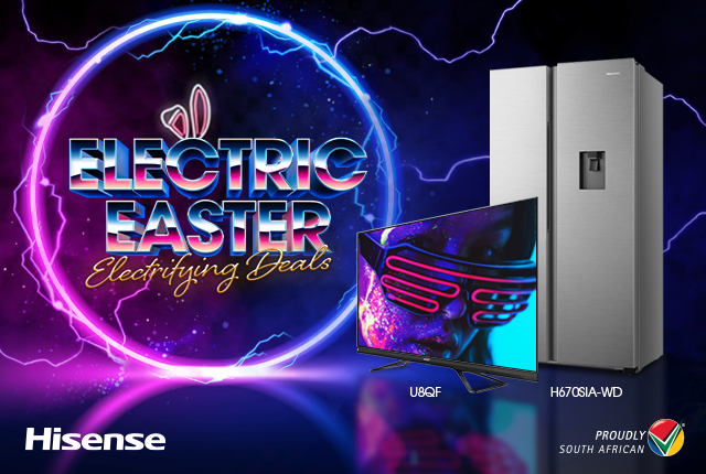 Hisense Electric Easter – Get great deals on TVs