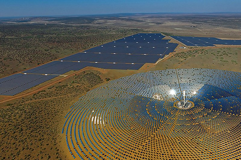 South Africa's largest solar power plant begins construction