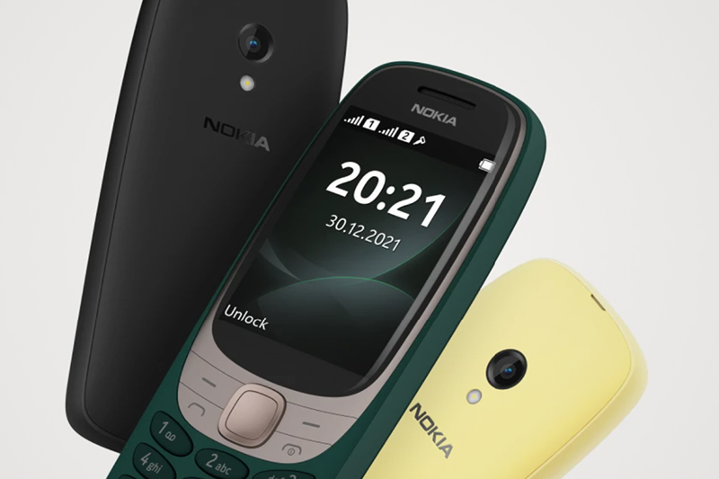 Nokia 6310 reboot — with up to 3-week battery life