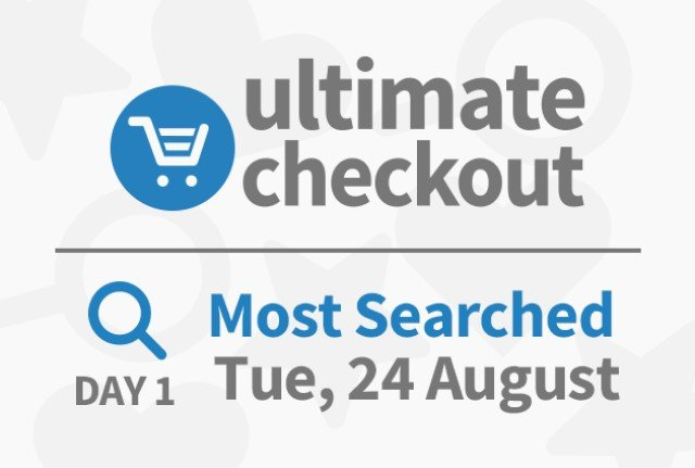 The Ultimate Checkout sale – The Day 1 Deals