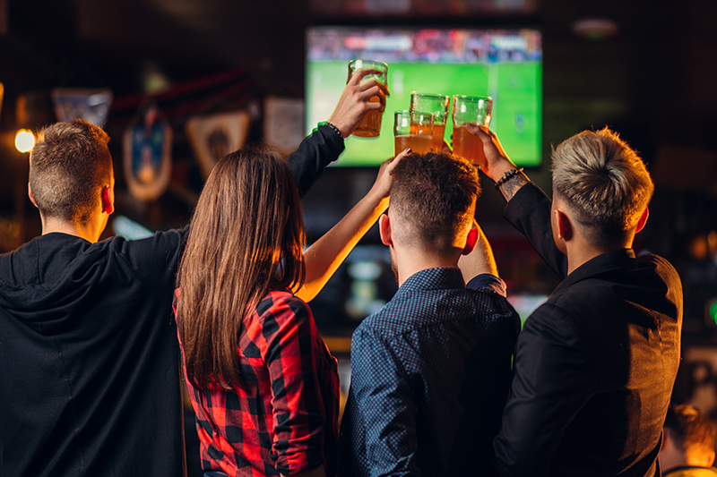 How many beers you can buy at a sports bar for the price of DStv Premium