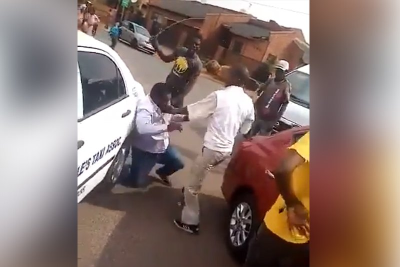 Shocking video of ride-hailing driver being attacked by taxi operators