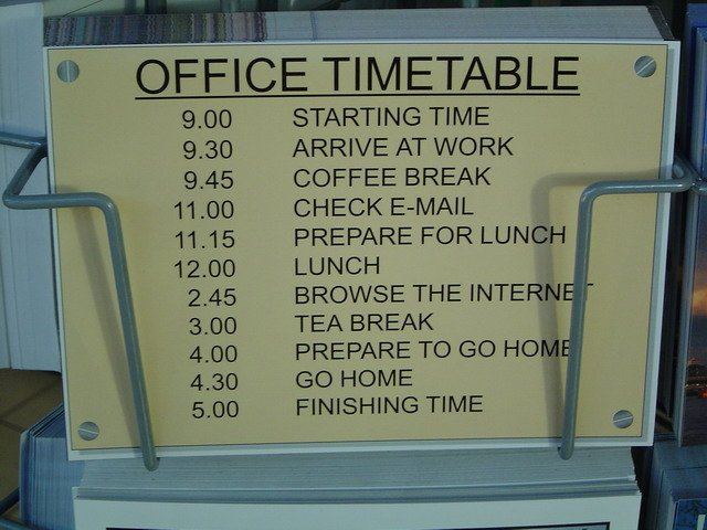 My Office Timetable